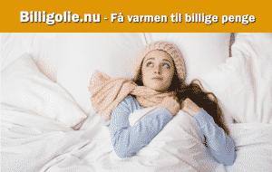 Billigolie - Gir dig varmen