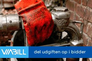 Del regningen op i bidder hos Billigolie