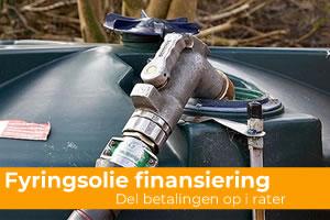 fyringsolie finansiering
